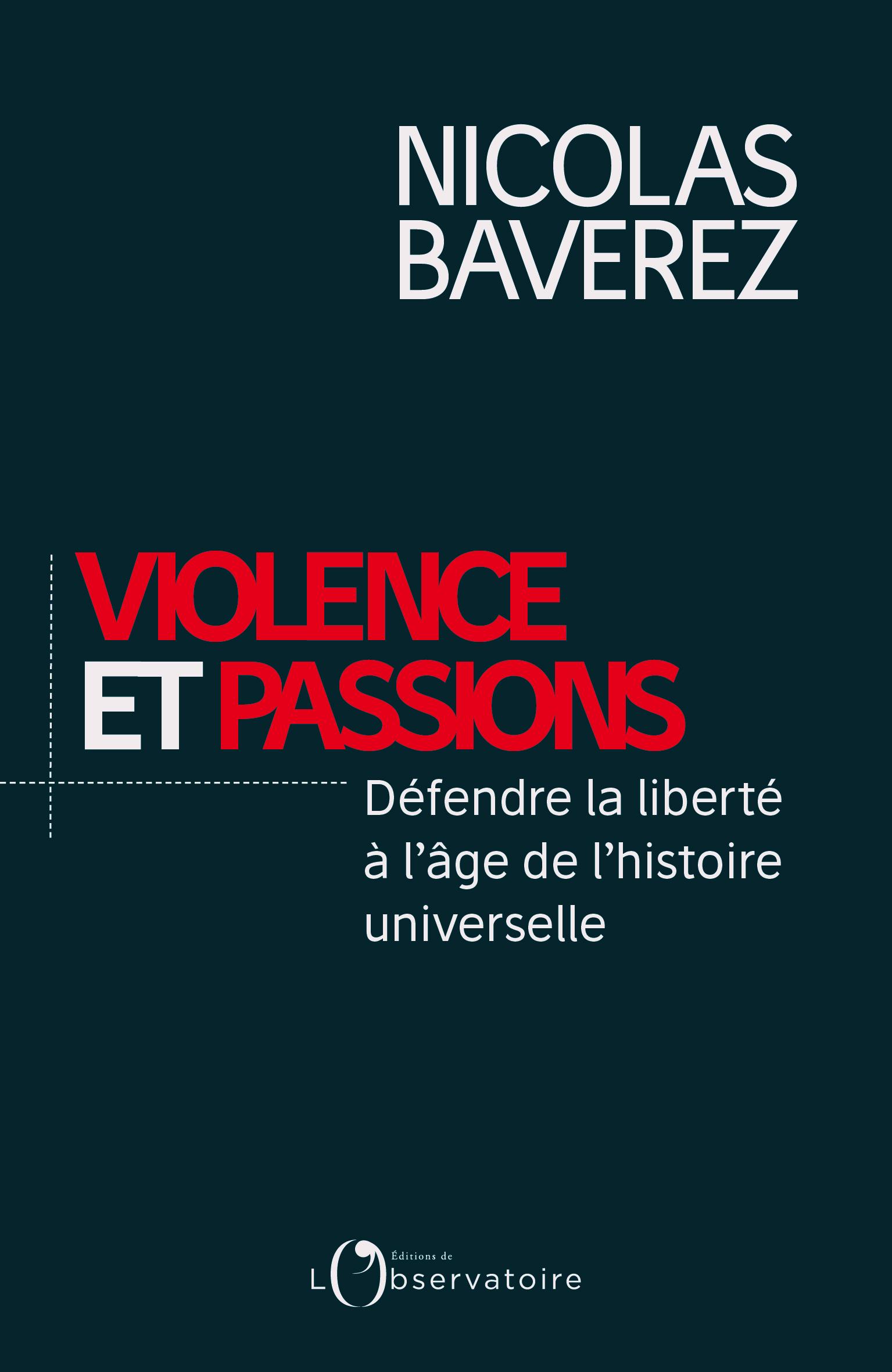 N. Baverez- Violence et passions - Couv 130x200
